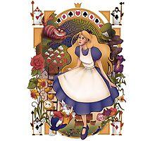 Wonderland Nouveau Photographic Print