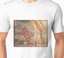 Preparing Dinner- The Cutting Board Unisex T-Shirt