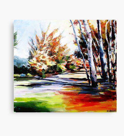 Autumn nature landscape  Canvas Print