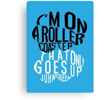 TFIOS - Roller Coaster Canvas Print