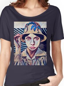 Explorer- Impressionist Render  Women's Relaxed Fit T-Shirt