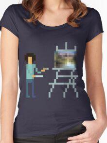 Pixel Ross Women's Fitted Scoop T-Shirt