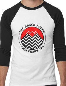 The Black Lodge Club - Twin Peaks Men's Baseball ¾ T-Shirt