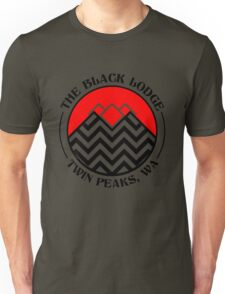 The Black Lodge Club - Twin Peaks Unisex T-Shirt