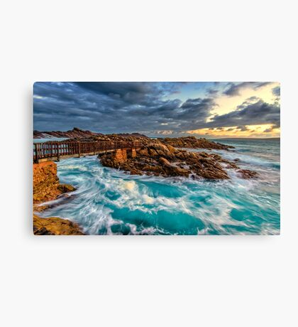 Sunrise at the Sea Canvas Print