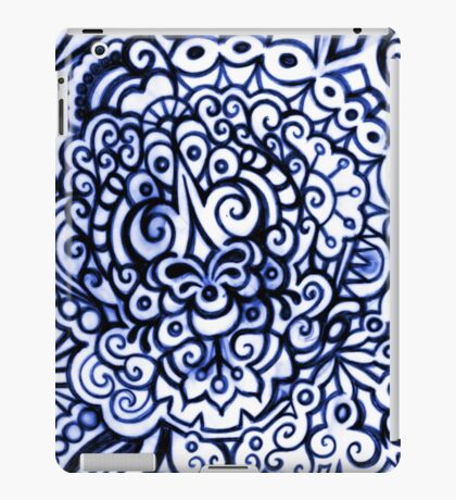Blue Tattoo iPad Case/Skin