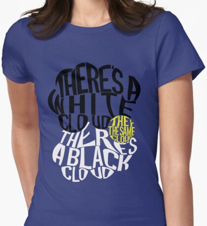TFIOS Clouds Womens Fitted T-Shirt