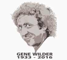 gene wilder comic rip Kids Tee