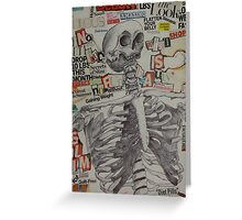 Bones Greeting Card