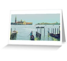 The Boatman Greeting Card