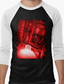 Steampunk Ladies Backpack 1.1 Men's Baseball ¾ T-Shirt