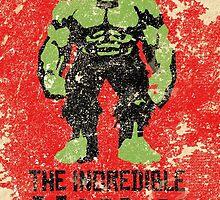 Hulk  by squidlydesigns