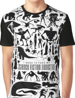 Science Fiction Addiction Graphic T-Shirt