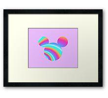 Trippy Mickey Framed Print