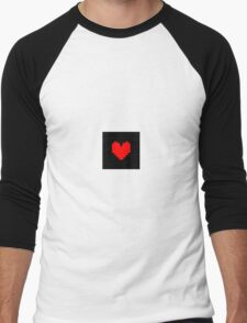 Undertale Heart Shirt Men's Baseball ¾ T-Shirt