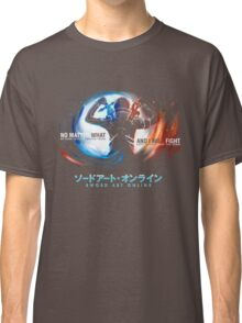 SAO Sword Art Online Japan Super Hero Classic T-Shirt