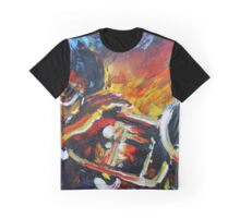 Sachmo the Trumpet Player Graphic T-Shirt