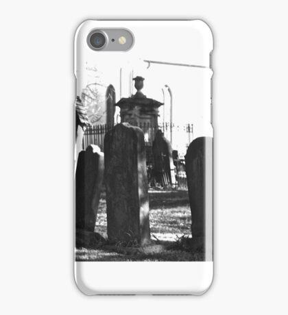 Cemetery. St. Peters. N.S.W. iPhone Case/Skin