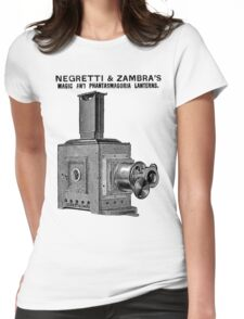 Magic Lantern - Image Projector Womens Fitted T-Shirt