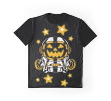 Space Halloween Graphic T-Shirt