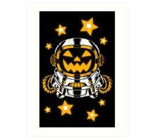 Space Halloween Art Print