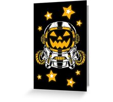Space Halloween Greeting Card