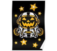 Space Halloween Poster