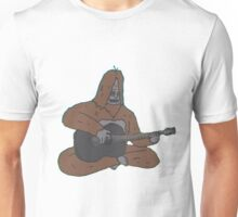 Sassy with a guitar Unisex T-Shirt