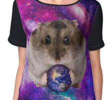 Space Hamster Chiffon Top