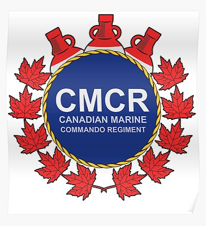 Canadian Marine Commando Regiment Poster