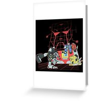 AUTOBOT B-BOTS Greeting Card
