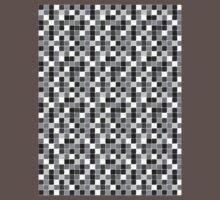 Pattern Mosaic Texture One Piece - Short Sleeve