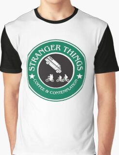 Stranger Things: Mornings are for Coffee and Contemplation (version three) Graphic T-Shirt