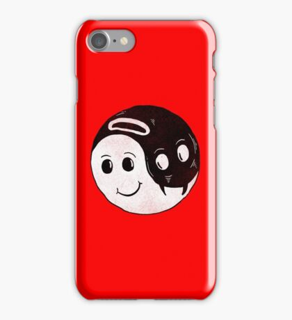 The Good and The Evil iPhone Case/Skin