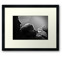 The Quiet Moments Framed Print
