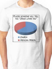 Humor: Jesus Loves You Unisex T-Shirt