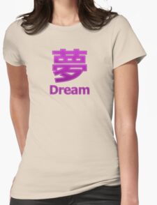 Dream (Yume) Womens Fitted T-Shirt