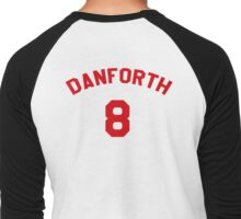 High School Musical: Danforth Jersey Red Men's Baseball ¾ T-Shirt