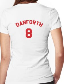 High School Musical: Danforth Jersey Red Womens Fitted T-Shirt