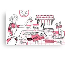 Baking Day Fun Canvas Print