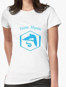 Pokemon Go Team Mysitc logo Womens Fitted T-Shirt