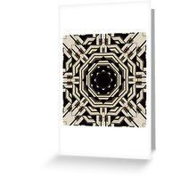Kaleidoscope: Ink 01 Greeting Card