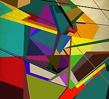 The Cubist Man by self-toon