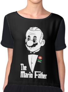 The Mario Father -fan art- Chiffon Top