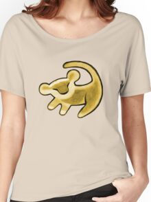 Simba sketch Women's Relaxed Fit T-Shirt
