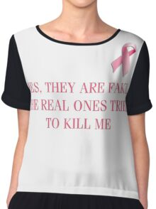Breast Cancer Survivor Chiffon Top