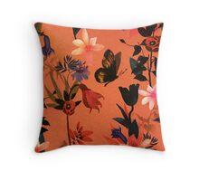 Pretty floral garden Throw Pillow