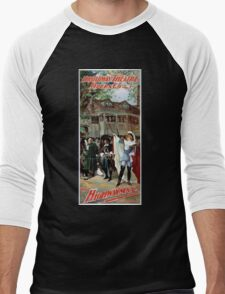 Performing Arts Posters Broadway Theatre Opera Co presenting the DeKoven Smiths greatest success The highwayman 1719 Men's Baseball ¾ T-Shirt