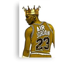 "Michael ""Air"" Jordan - King Canvas Print"