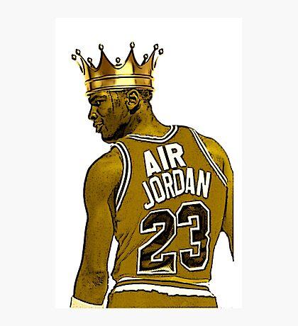 """Michael """"Air"""" Jordan - King Photographic Print"""